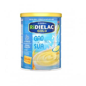 Bột Ăn Dặm Gạo sữa cho bé Ridielac Gold, 350g