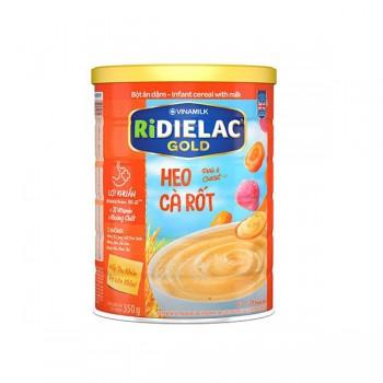 Bột Ăn Dặm cho bé Ridielac Gold Heo Cà Rốt, 350g
