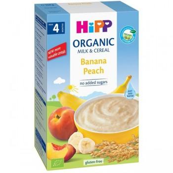 Bột ăn dặm Hipp Organic chuối đào Banana Peach