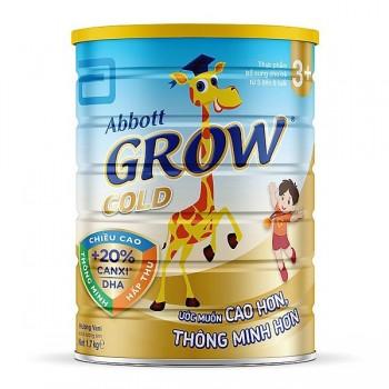 Sữa bột Abbott Grow Gold +, hộp 1,7kg, trẻ 3-6 tuổi