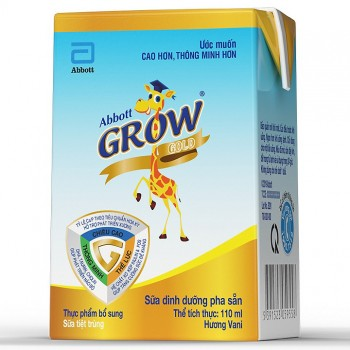 Sữa huơu nước Abbott Grow hộp 110ml,  từ 1 tuổi