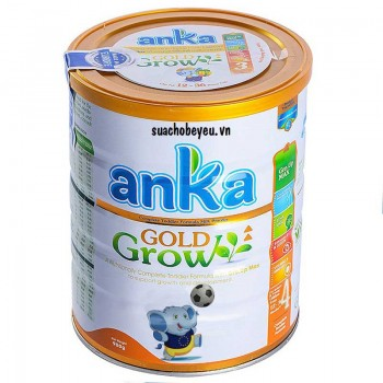 Sữa Anka Gold Grow 4, Kerry Ireland, 3-6 tuổi, 900g