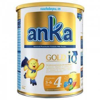 Sữa Anka Gold IQ 4, Kerry Ireland, 3-6 tuổi, 900g