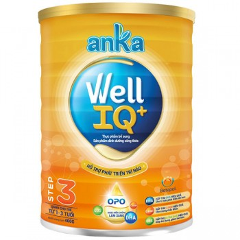 Sữa Anka Well IQ 3, Kerry Ireland, 1-3 tuổi, 400g
