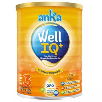 Sữa Anka Well IQ 3, Kerry Ireland, 1-3 tuổi, 900g