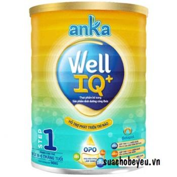Sữa Anka Well IQ 1, Kerry Ireland, 0-6 tháng, 900g