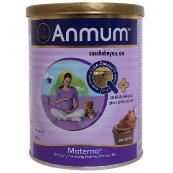 Sữa mẹ bầu Anmum Materna vị Socola, lon 400g