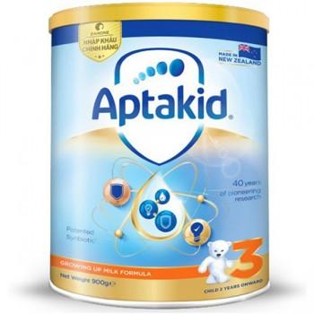 Sữa Aptakid New Zealand số 3, trẻ từ 2 tuổi, lon 900g