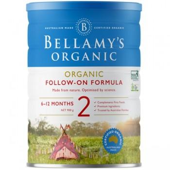 Sữa Bellamys Organic Úc số 2 cho trẻ 6-12 tháng tuổi