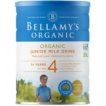 Sữa Bellamys Organic Úc số 4 cho trẻ trên 3 tuổi, 900g