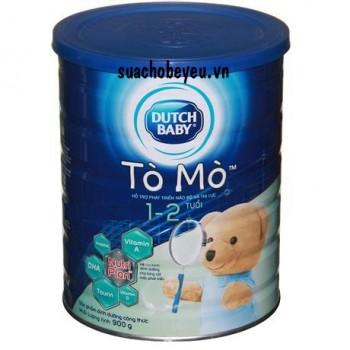 Sữa bột Cô gái Hà Lan Tò Mò, trẻ 1-2 tuổi, 900g