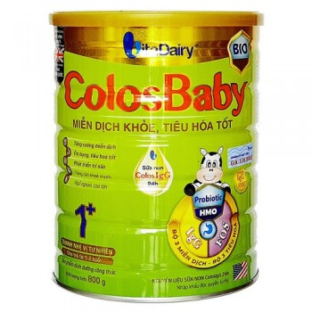 Sữa ColosBaby BIO Gold 1+ cho trẻ 1- 2 tuổi, lon 800g