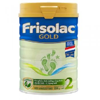 Sữa Frisolac Gold 2, 850g, Hà Lan FrieslandCampina