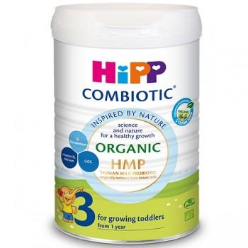 Sữa HiPP Combiotic số 3, lon 800g, trẻ từ 1 - 3 tuổi
