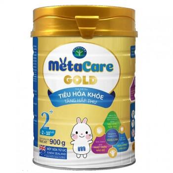 Sữa bôt Metacare Gold 2+ cho trẻ 2-10 tuổi, 900g