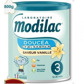 Sữa Modilac Doucéa Croissance vị Vani số 3 cho trẻ 1-3 tuổi