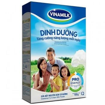 Sữa bột nguyên kem Vinamilk hộp giấy 400g