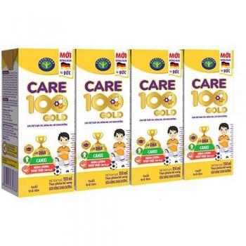 Sữa công thức pha sẵn Care 100 Gold hộp 180ml cho trẻ lười ăn
