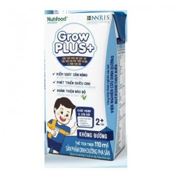 Sữa bột pha sẵn Nuti Grow Plus + trắng cho trẻ béo phì 110ml