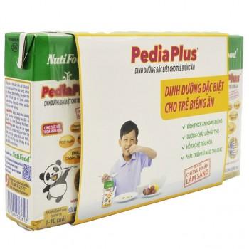 Thùng sữa bột pha sẵn Nuti Pedia Plus hộp 180ml