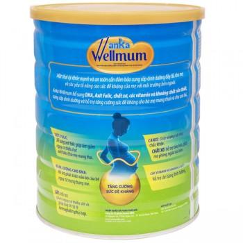 Sữa Anka Wellmum cho mẹ mang thai lon 900g