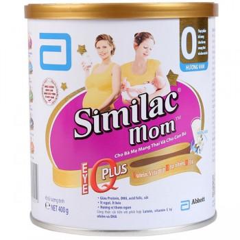 Sữa cho mẹ mang thai Similac Mom IQ, 400g