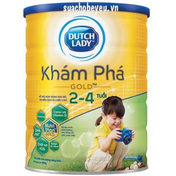 Sữa Cô Gái Hà Lan Khám phá Gold, 2-4 tuổi, 900g