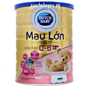 Sữa Cô gái Hà Lan Mau Lớn Gold, 900g, 0-6 tháng