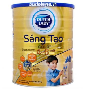 Sữa Cô Gái Hà Lan Sáng Tạo Gold, 4-6 tuổi, 1.5kg