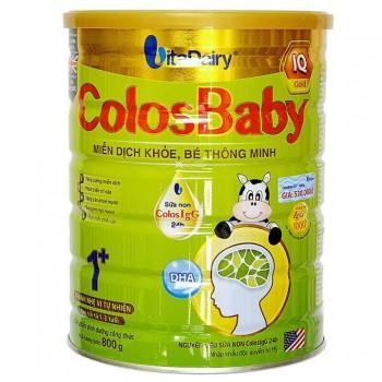 Sữa Colosbaby IQ Gold 1+ cho trẻ từ 1-2 tuổi,  lon 800g