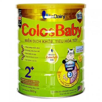 Sữa ColosBaby BIO Gold 2+, trẻ trên 2 tuổi, hộp 800g
