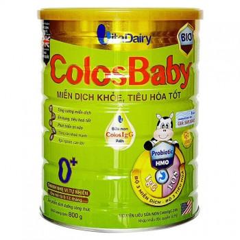 Sữa ColosBaby BIO Gold 0+, trẻ 0-12 tháng, hộp 800g