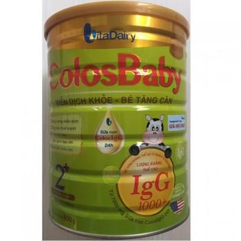 Sữa non Colosbaby Gold 2+ cho trẻ trên 2 tuổi, lon 800g
