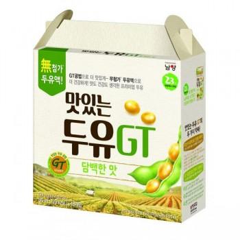 Sữa Đậu Nành NamYang Ít Ngọt, 16 hộp, 190ml