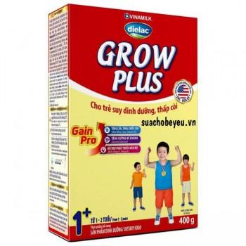 Sữa Dielac Grow Plus 1, hộp giấy 400g, 1-2 tuổi