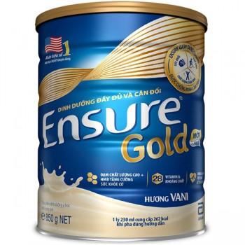 Sữa Ensure Gold HMB, Dinh Dưỡng Abbott, 850g