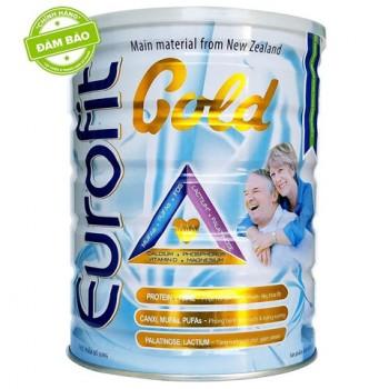 Sữa Eurofit Gold lon 400g dinh dưỡng cho người lớn