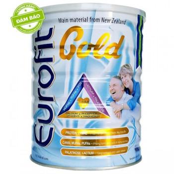 Sữa Eurofit Gold lon 900g dinh dưỡng người lớn tuổi