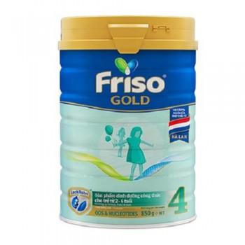Sữa Friso Gold 4 lon 850g, FrieslandCampina Hà Lan
