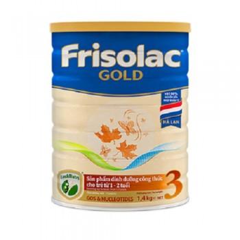 Sữa Frisolac Gold 3, 1,4kg, FrieslandCampina Hà Lan