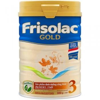 Sữa Frisolac Gold 3, 380g, FrieslandCampina Hà Lan