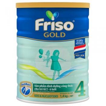 Sữa Friso Gold 4, 1,4kg, FrieslandCampina Hà Lan