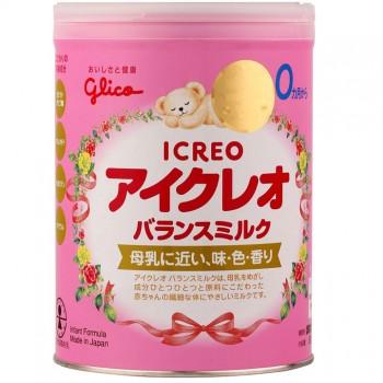 Sữa Glico Icreo, 100% nội địa Nhật, 0-9 tháng, 800g