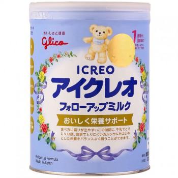 Sữa bột Glico Icreo, nội địa Nhật, 9-36 tháng, 820g