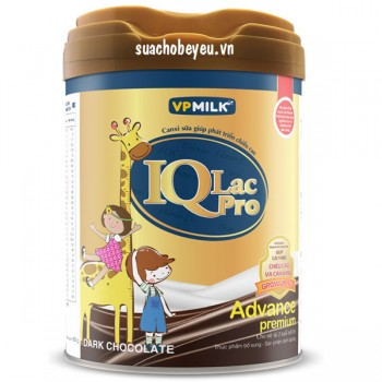 Sữa IQlac Pro Advance Socola, trẻ > 2 tuổi, 400g