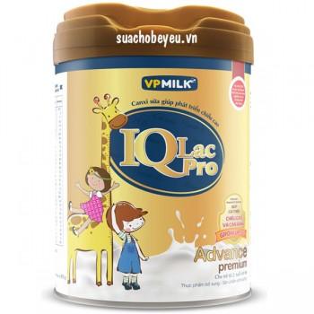 Sữa IQlac Pro Advance vani, trẻ > 2 tuổi, 900g