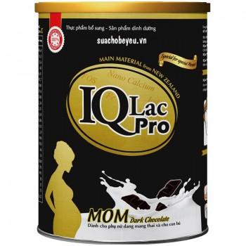 Sữa bột IQLac Pro Mom hương sô cô la, hộp 400g