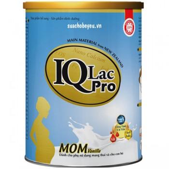 Sữa bầu IQLac Pro Mom hương vị Vani, hộp 400g