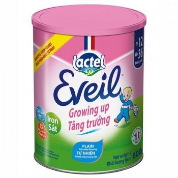 Sữa bột Pháp Lactel Eveil Growing Up, 1-3 tuổi, 800g