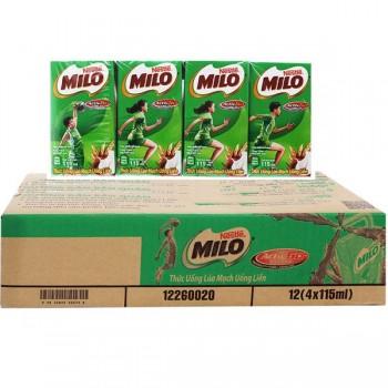 Thức uống lúa mạch Nestle Milo hộp nhỏ 115ml